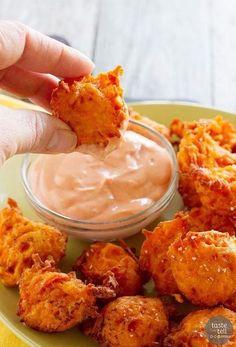 Sweet Potato Tots. Mange spændende opskrifter