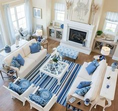 3 Miraculous Cool Tips: Coastal Interiors Beams coastal fireplace sofa tables.Coastal Home Windows. in fireplace ideas living rooms Captivating Coastal Living Room Black Ideas room furniture arrangement ideas Coastal Living Rooms, Home Living Room, Living Room Designs, Blue Living Rooms, Cottage Living, Cool Living Room Ideas, Living Room Setup, Living Room Stools, Beach Living Room