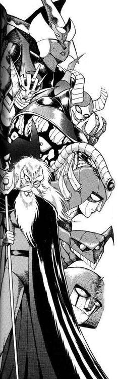 Mazinger Z Villains