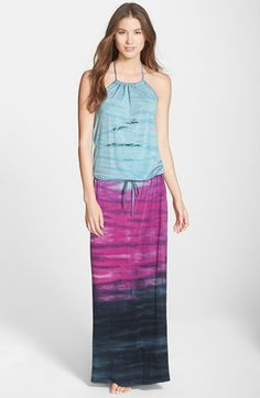 Hard+Tail+Halter+Maxi+Dress+available+at+#Nordstrom