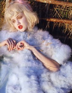 Lindsey Wixson for Vogue Italia January 2012