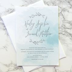 ** THIS LISTING IS FOR A NON PERSONALIZED LETTERPRESS PRINTING SAMPLE OF THE RIVER VINE INVITATION SUITE. ** If you would like a flat sample,