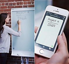 The SMART kapp 42 Dry-Erase Board ($900) is to whiteboards what a laptop is to a chiseled stone tablet. In other words, it's technologically light years ahead of yesterday's boring old dry erase boards and flipcharts. But incredibly, it's just as simple. All you have to do is plug in, enjoy its refined inking—and yes, you can use a regular dry erase marker—and the SMART kapp will share your content in real time with up to 250 participants.