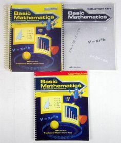 Abeka Basic Mathematics Teacher Edition - Curriculum - Solution Key 3rd Edition #TextbookBundleKit