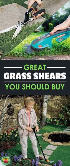 Urban Gardening Ideas Unruly weeds or tall grass getting you down? Do you have places where your mower and string trimmer can't reach? You need the best grass shears you can find! I'll help you choose the right ones for you. Gardening For Beginners, Gardening Tips, Best Garden Tools, Fall Vegetables, Lawn Edging, Garden Equipment, Home Vegetable Garden, Hardy Plants, Garden Pests