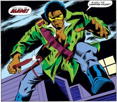 MARVEL PANEL OF THE DAY    From: Tomb of Dracula (1972) #10    Just in case you get him confused with, say, Blade the tax attorney.    http://marvelentertainment.tumblr.com/