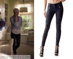 Pretty Little Liars: Season 6 Episode 5 Sara's Ripped Skinny Jeans
