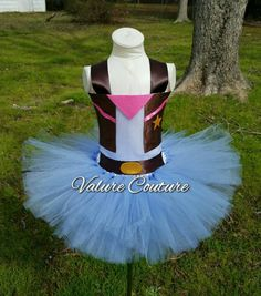 Check out this item in my Etsy shop https://www.etsy.com/listing/291834061/sheriff-callie-inspired-tutu-dress