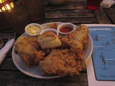 Fried Chicken at The Commodore