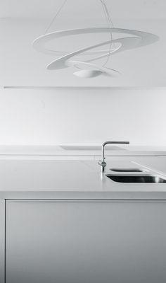 Het-Atelier | Project Biliouw Minimalist Kitchen Design, Kitchen Desing, Interior Deco, Minimalist Interior Design, Kitchen Styling, Elegant Kitchens, Modern Kitchen, Dining Design, Interior Lighting