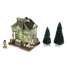 "Department 56: Products - ""Nantucket Christmas Taffy"" - View Lighted Buildings"