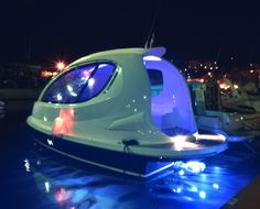 """Italian design firm launches its first """"mini yacht"""""""