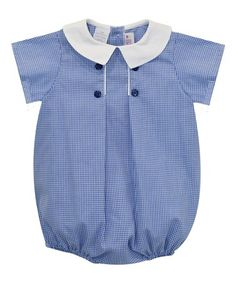a788a8142f51 Love this Royal Checkerboard Bubble Romper - Infant on  zulily!   zulilyfinds Infants