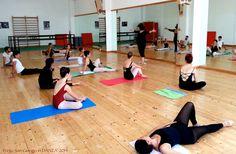 Dance Workshop with #Nathalie #Gaubert   FloorBarre www.giselle.it