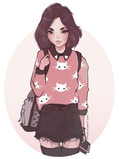 I want this outfit :c so bad  Progress gif ;D