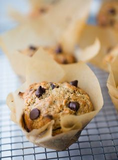 Vegan Chocolate Chip Muffin Recipe