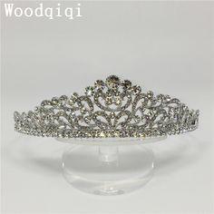 Woodqiqi couronne bijoux de tete peinetas y accesorios para <font><b>peinados</b></font> hair accessories for women wedding cheveux pour femme