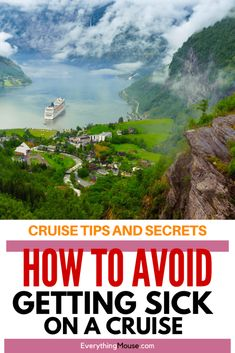 Cruise Tips and Secrets. Whether you are a Cruise First Timer or veteran cruiser you will appreciate these handy tips on how to stay healthy and feeling well on a cruise. #Cruise #CruiseTips #CruiseTipsandSecrets