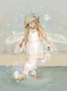 Charlotte Bird. twinkle toes Print