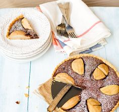 Mouth-Watering Chocolate & Pear Tart Recipe
