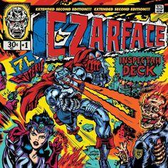 As 14 melhores ilustrações de capas de álbum de Hip-Hop | Czarface - Czarface