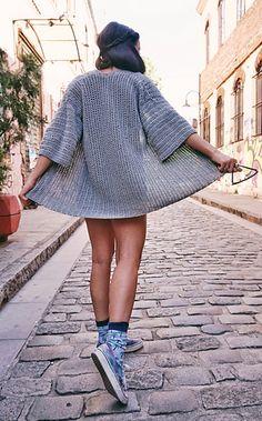 Roxy Cardigan pattern by Tanya Eberhardt Black Crochet Dress, Crochet Cardigan Pattern, Crochet Poncho, Crochet Patterns, Crochet Vests, Crochet Jacket, Summer Cardigan, Crochet Clothes, Crochet Dresses