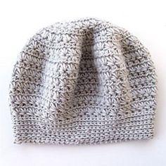 Beautiful star stitch crochet beret pattern.