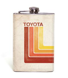 Retro Toyota - 8oz Flask – Wicked Wheeler