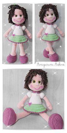 Amigurumi Kıvırcık Saçlı Bebek Yapılışı | Tiny Mini Design