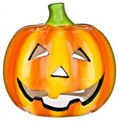 Create a miniature glowing pumpkin with this ceramic tea light holder. Burn candle away from children and pet s Halloween Favors, Halloween Goodies, Halloween Items, Halloween Fancy Dress, Halloween Party Decor, Halloween Pumpkins, Halloween Fun, Scary Pumpkin, Pumpkin Tea