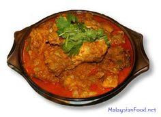 Malaysian Portuguese Devil Curry