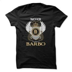BARBO Never Underestimate - #lace shirt #maxi tee. SIMILAR ITEMS => https://www.sunfrog.com/Names/BARBO-Never-Underestimate-qjqoprivmw.html?68278