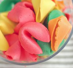 Learn how to make fortune cookies-great idea for asking someone to a formal too