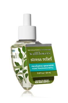 Stress Relief - Eucalyptus Spearmint Wallflowers® Fragrance Bulb - Aromatherapy - Bath & Body Works