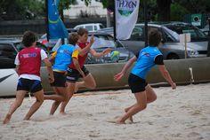 Beach rugby tour à Brive la Gaillarde en 2010