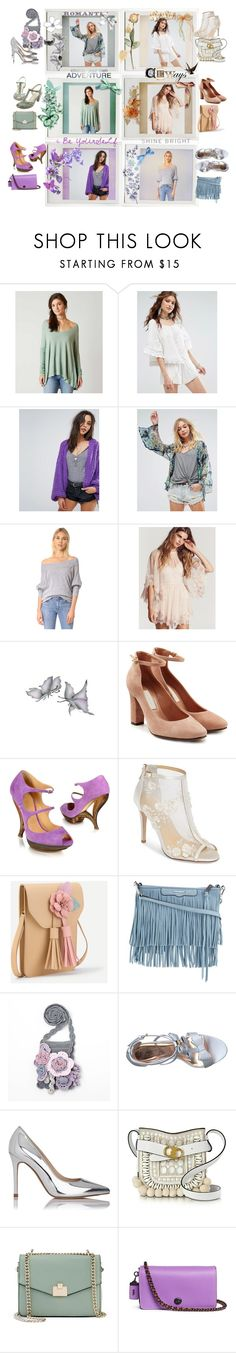"""So many things! 💜"" by lawvel ❤ liked on Polyvore featuring Holga, Free People, L'Autre Chose, Casadei, Bella Belle, Rebecca Minkoff, Ted Baker, L.K.Bennett, Tory Burch and Jennifer Lopez"