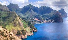 Landmarks of Robinson Crusoe Island