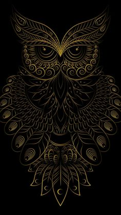 Coruja Arte VitralYou can find Owl art and more on our website. Owl Wallpaper Iphone, Dark Wallpaper, Cellphone Wallpaper, Owl Tattoo Drawings, Art Drawings, Tattoo Art, Tattoo Model Mann, Art Buddha, Owl Artwork