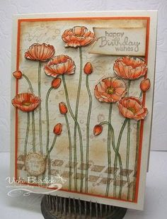 Stampin' Up! Pleasant poppies, It's a Stamp Thing Latest Articles   Bloglovin'