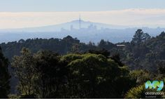 Rangitoto from Arataki Visitor Centre Volcanoes, Us Images, Auckland, Ranges, Mount Rainier, Centre, Gallery, Travel, Inspiration