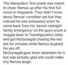 The Marauders first prank