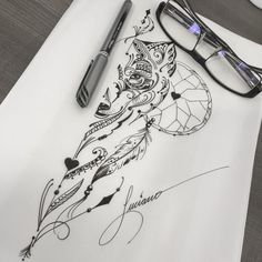 Find the tattoo artists and the perfect inspiration to your tattoo. - Art created by Luciano Tatuador. Wolf drawing in fineline. Side Boob Tattoo, Spine Tattoos, Back Tattoo, Body Art Tattoos, Sleeve Tattoos, Wolf Tattoos, Animal Tattoos, Tatoos, Trendy Tattoos