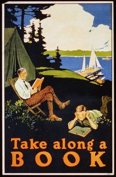 This summer, take along a book!