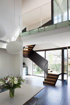 phil coffey architects / modern mews house, london | stairs ... - Wohnzimmermobel Modern