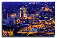 Roanoke Virginia HDR by Jersey JJ, via Flickr