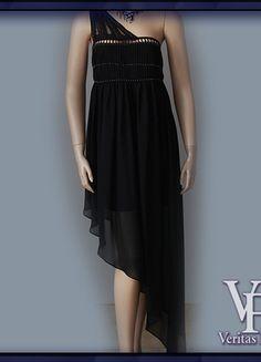 Kup mój przedmiot na #vintedpl http://www.vinted.pl/damska-odziez/sukienki-wieczorowe/10380034-asos-czarna-szyfonowa-asymetryczna-sukienka-wieczorowa-na-wesele-3840