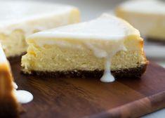 Witte chocolade cheesecake met Bastogne bodem - Cakeje Van Eigen Deeg