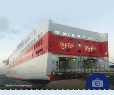 """«Ένα από τα καλύτερα πλοία και πολυαγαπημένο μου» μας έγραψε η Swtiria Kontogewrgou που μοιράστηκε μαζί μας τη φωτογραφία του FESTOS PALACE που τράβηξε στο Ηράκλειο. Την ευχαριστούμε θερμά! #Photo_of_the_week """"One of the best ships, also a personal favourite"""" wrote Swtiria Kontogewrgou, who shared captured FESTOS PALACE at the port of Heraklion. We would like to thank her for her lovely picture and kind words."""