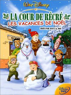 Disney Recess Christmas: Miracle on Third Street DVD , Christmas Cartoon Movies, Holiday Movie, Childrens Christmas Movies, Family Movie Night, Family Movies, Paul Joe, Dabney Coleman, Robert Goulet, Earl Jones