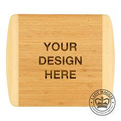 Custom engraved, personalized two-tone bamboo cutting board. This beautiful bamboo cutting board is custom engraved for a stunning, unique gift! Have an idea for a gift but cant find what youre looking for? We can make it! Have a company logo you want on a gift? We can do that! Have a design that youd like but dont have artwork? Yep, we can do that too! At checkout, tell us in the Notes field what you want engraved. If you have artwork, please email that directly to us. We will contact you…